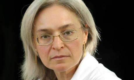 Foto af Anna Politkovskaja