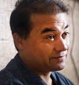 Portræt af Ilham Tohti