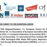 Fælles NGO-udtalelse til EU om forfølgelse og fængsling af skribenter Tyrkiet