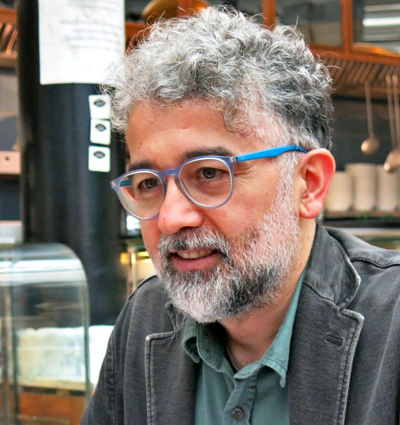 Erol Önderoğlu, journalist og og repræsentant for Reporters Without Borders i Tyrkiet. Foto: Marianne Østergaard/Dansk PEN
